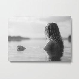 water girl Metal Print