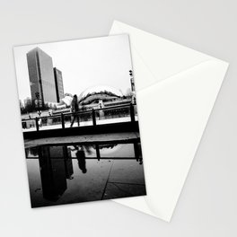 Chicago Bean/ Ice Rink Stationery Cards