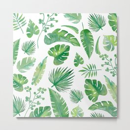 Tropical days - series -  Metal Print