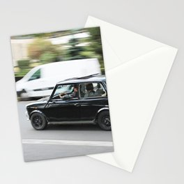 Mini on the Streets of Paris Stationery Cards