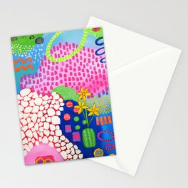 Mosaic Garden Stationery Cards