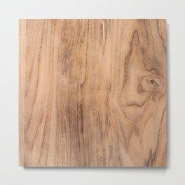 Wood Grain #575 Metal Print