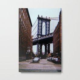 New York City // Retro 44 Metal Print