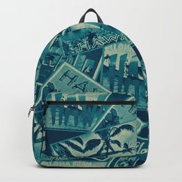 Vintage Hawaii Backpack