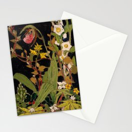 Tom Thomson - Moccasin Flower, Orchids, Algonquin Park - Canada, Canadian Oil Painting - Group of Se Stationery Cards
