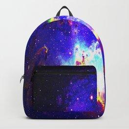 Angelical Nebula Galaxy Space Interstellar Spacial Dust Backpack
