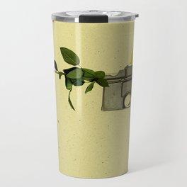 FLOWER POWER. Travel Mug