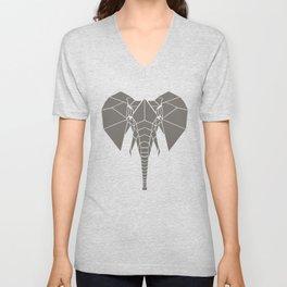 Grey Elephant Unisex V-Neck