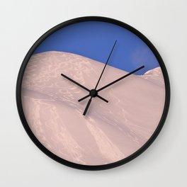 Back-Country Skiing - 7 Wall Clock