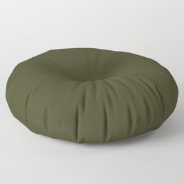 Garden Boot Green in an English Country Garden Floor Pillow
