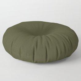 Garden Boot Green in an English Country Garden Floor Pillow