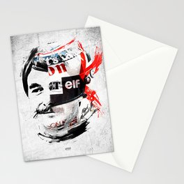 """Nigel """"The Lion"""" Mansell - White & Color Series #5 Stationery Cards"""