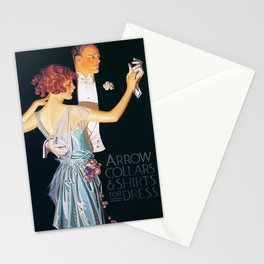 Joseph Christian Leyendecker - Arrow Collars And Shirts For Dress - Digital Remastered Edition Stationery Cards