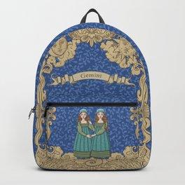 Vintage Astrology - Gemini Backpack