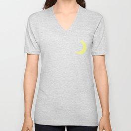Bright Moonlight Unisex V-Neck