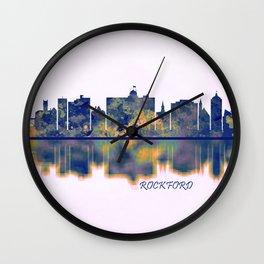 Rockford Skyline Wall Clock