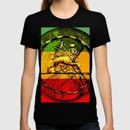 Lion of Judah Haile Selassie King of Kings T-shirt