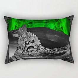 DESTINATION INNER SPACE 1 (1966) Rectangular Pillow