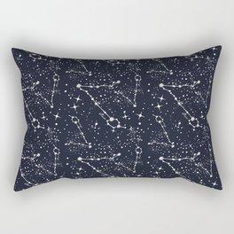 Zodiac Constellations - Pisces Rectangular Pillow