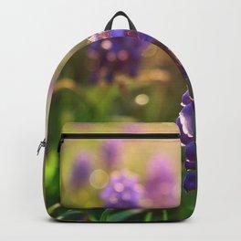 Grape Hyacinths (Muscari) Backpack