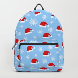 Winter santa claus pattern Backpack