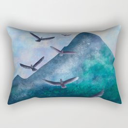 The Flight of The Eagles Rectangular Pillow