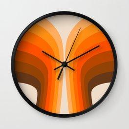 Golden Wing Wall Clock