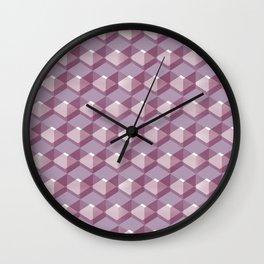 Cube Series #1 Wall Clock