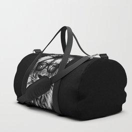 Hipster Lion Black Sporttaschen