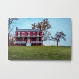 Worthington Farm House Monocacy National Battlefield Park Civil War Battleground Maryland Metal Print