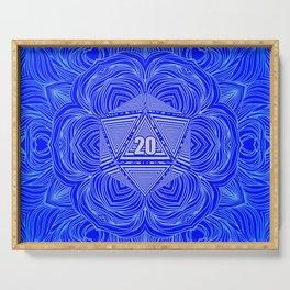 Natural 20 Mandala Purity of the Paladin Serving Tray