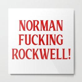 Norman Rockwell. Lana, dia del padre, Venice beach, ldr, nfr Metal Print