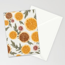 Dried Citrus and Juniper Stationery Cards