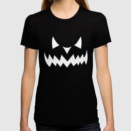 Halloween Pumpkin Face Jack OLantern T-shirt