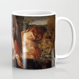 Merisi da Caravaggio - Ruhe auf der Flucht nach Ägypten Coffee Mug