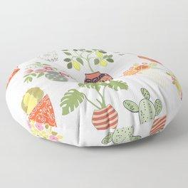 Indoor Garden Planters Floor Pillow