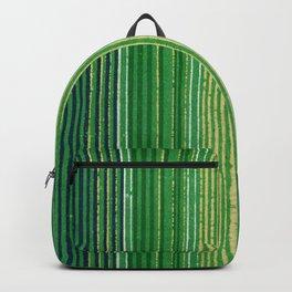 Vintage Japanese Textile Woodcut Backpack
