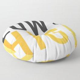 We Go High Floor Pillow