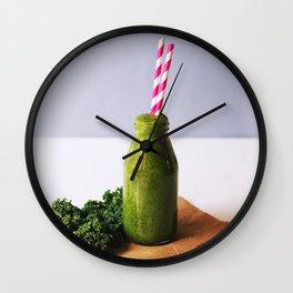 kale life Wall Clock