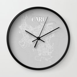 LARU Grey Wall Clock