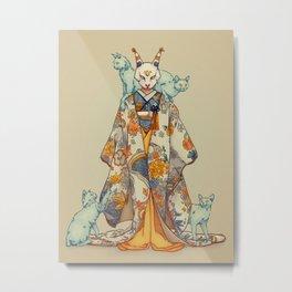 NEKO Metal Print