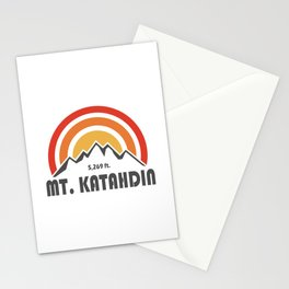 Mt. Katahdin Stationery Cards