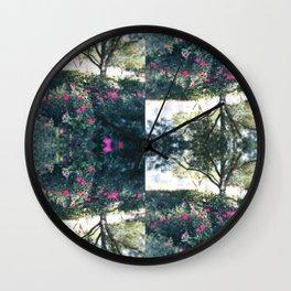 Rose Garden Oversize Wall Clock