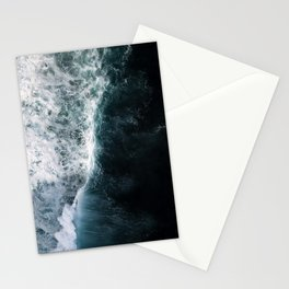 Oceanscape - White and Blue Stationery Cards