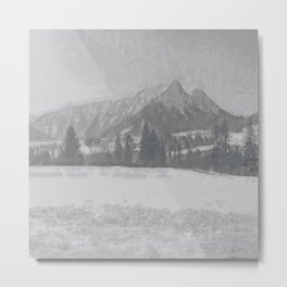 Winterly Landscape I Metal Print