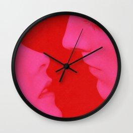 Kiss Me/Kill Me Wall Clock