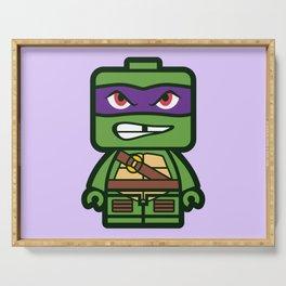 Chibi Donatello Ninja Turtle Serving Tray