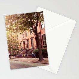 Brooklyn Heights neighborhood take me back Stationery Cards