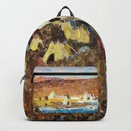 WINTER CAMP OF THE SIOUX - William Herbert Dunton Backpack