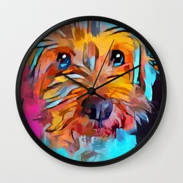 Schnoodle 4 Wall Clock
